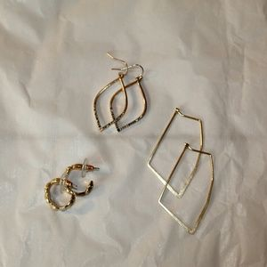 Bundle of Three Earrings, Assorted Target Brands